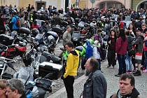 Zahájení motorkářské sezóny v Kadani.