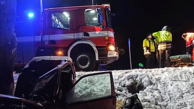 Tragická nehoda u Dobřence.