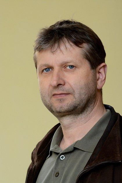 Ředitel městských lesů Chomutov Petr Markes.