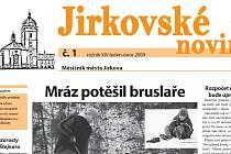 Jirkovské noviny.