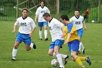 Fotbal Sokol Udlice-SK Málkov  (domácí v bílém).
