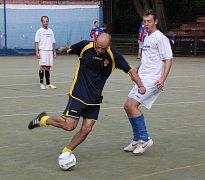 Snímek je z utkání Technoline-FC Krušnohor.
