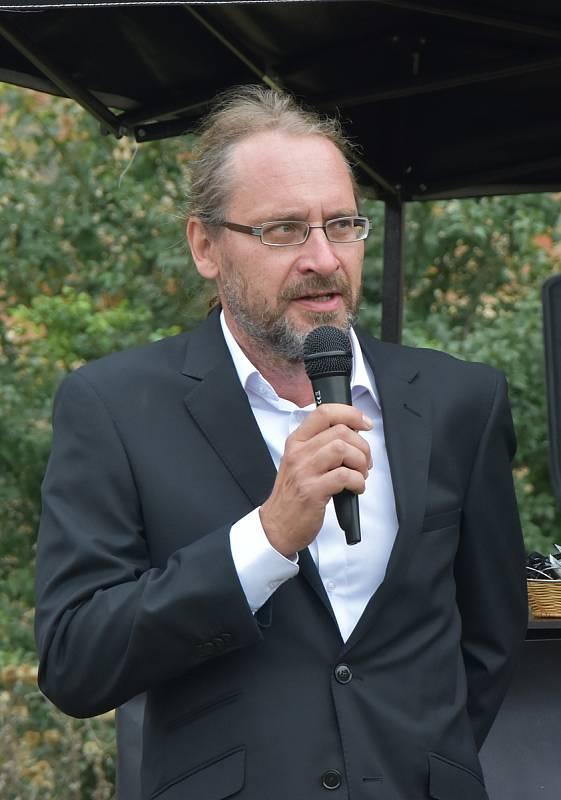 Ředitel Národního památkového ústavu v Ústí nad Labem Petr Hrubý.