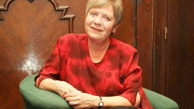 Jaroslava Obermaierová hraje jednu z vedlejších rolí hry Chudák manžel.