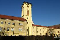 Hvězdářská věž vedle chomutovské knihovny