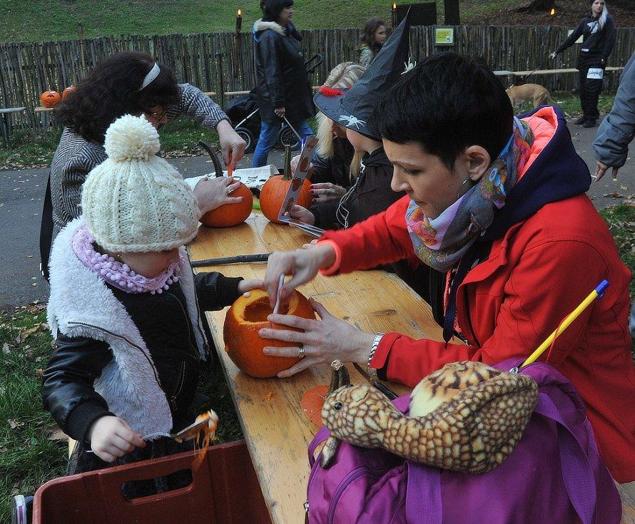 Strašidelná zoo v Chomutově.
