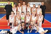 Levhartice U13 skončily na MČR na pátém místě.