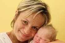 Malá Terezka Váchová se narodila 16. července v 18:24 hodin mamince Markétě. Chlubit se mohla váhou 3250 gramů a 53 centimetry.