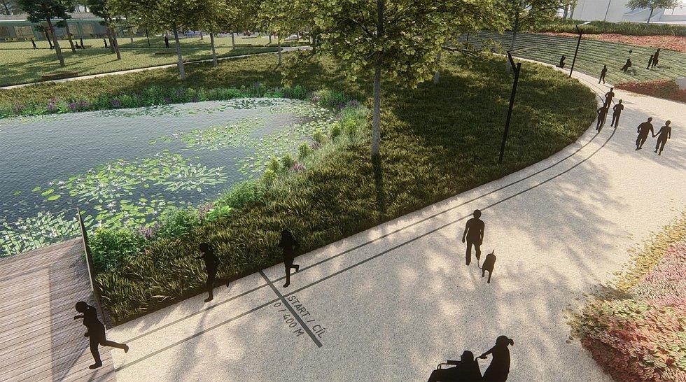 Takto by mohl městský park vypadat.