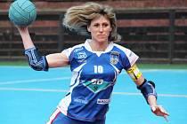 Jaroslava Čihařová byla nejlepší střelkyní týmu v utkání se Šroubárnou Žatec.