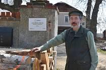 Ředitel Lesů města Jirkova Jaromír Fiala.