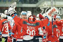 Pardubice mají po čtyřech zápase baráže plný počet bodů - 12.