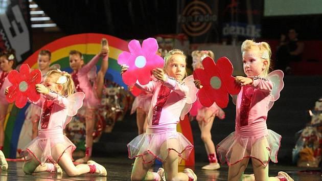 Malé tanečnice ukázaly, jaká jsou kvítka...