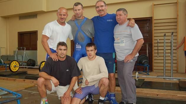 Chomutovští zápasníci
