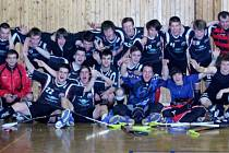 Vítězný tým FbC 98 Chomutov.
