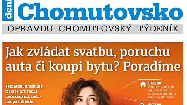 Týdeník Chomutovsko z 21. srpna 2018