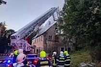 Požár ve Vejprtech