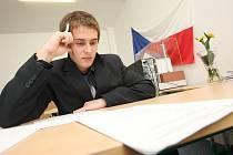 Zkoušku z odborných předmětů na SŠ energetické skládal i Jakub Wiesinger.