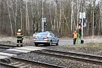 Nehoda se stala na přejezdu u Kamencového jezera poblíž Bandy.