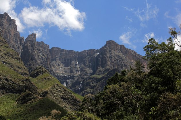 Tugela Falls. Royal Natal park, 2014, JAR