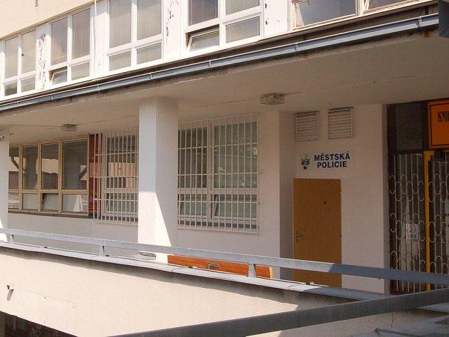 Nové sídlo jirkovské městské policie na Horníku.