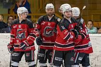 Úspěšní chomutovští hokejisté.