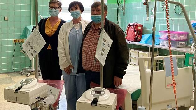 Dobrovolný svazek obcí Chomutovsko pomáhá místní nemocnici.