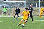 FC Chomutov v černém – Dukla Praha B 0:5 (0:3))