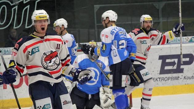 Jozef Balej se mohl ve čtvrtečním utkání radovat jenom jednou.