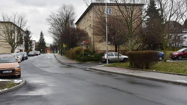 Ulice Tomáše ze Štítného v Chomutově