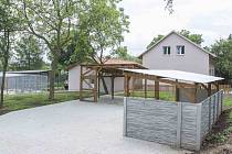 Nová Záchranná stanice pro handicapované živočichy.