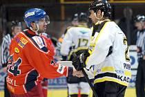 Ve třetím, a i rozhodujícím, utkání se střetla na domácím ledě SK Kadaň s týmem HC Sareza Ostrava. V zápase domácí podlehli hostům 0:4. Celkový účet série se tak zastavil na 3:0 pro Ostravu.