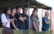 Cvičení aktivních záloh Hradba v rozvodně vysokého napětí u Kadaně