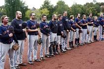 Před utkáním play-off se hraje hymna České republiky