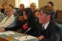 Studentský parlament Chomutov. Ilustrační foto.
