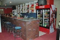 Bar v kadaňském Labyrintu.