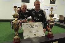 Jaroslav Taška a Michal Šinkovic ze Spartaku Perštejn se probojovali až do finále turnaje.