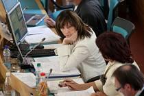 Zasedání chomutovského zastupitelstva. Ilustrační foto.