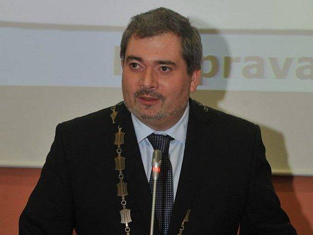 Daniel Černý, nedávno zvolený primátor Chomutova.