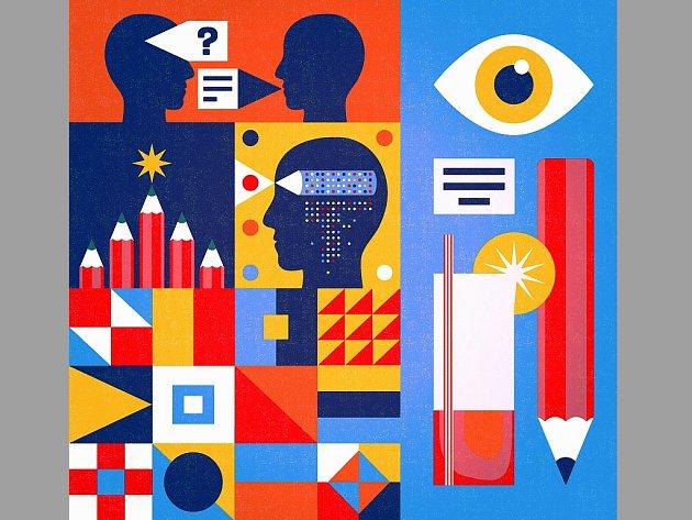 Grafiky a ilustrace Pavla Fuksu proslavily.