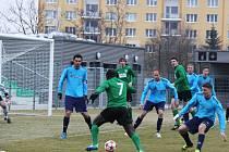 Fotbalisté Chomutova gól nevstřelili