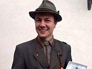 Osmnáctiletý Jiří Bláha z Křimova si vysloužil republikové prvenství ve vábení jelenů.