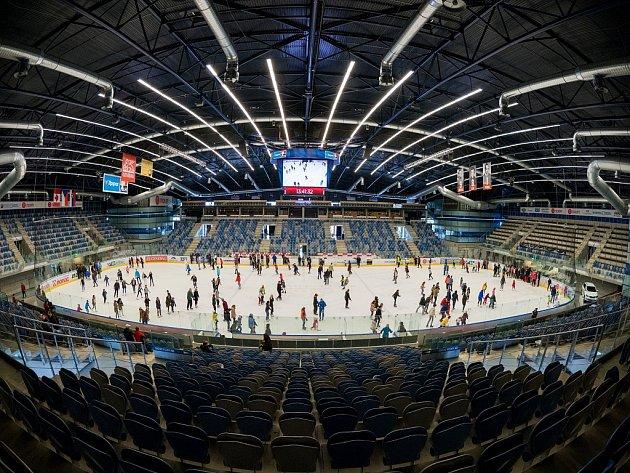 Chomutovská SD Aréna na archivním snímku