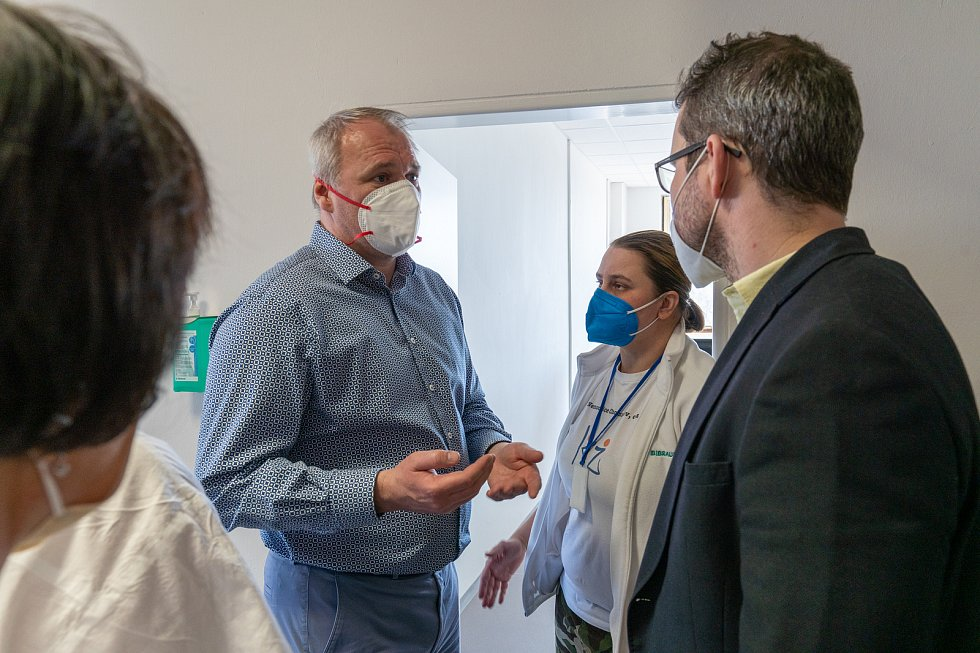 Chomutov se dočkal velkokapacitního očkovacího centra.