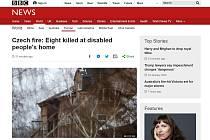 Tragédii ve Vejprtech se věnují i zahraniční média.
