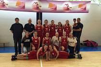 Levhartice U15 skončily na Mistrovství ČR na pátém místě.