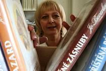 V nové knihovně se líbí i paní knihovnici Ireně Vildové.