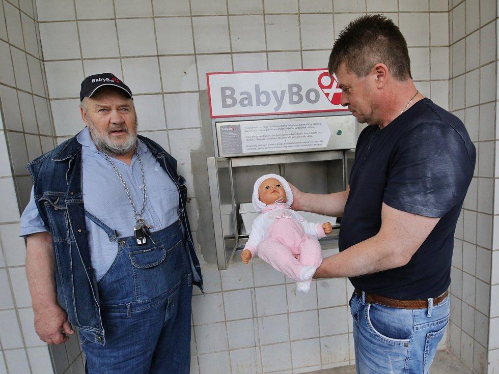 Nemocnice Chomutov má babybox nové generace
