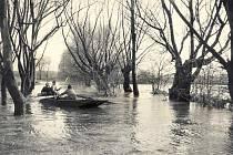 Povodně na Lounsku
