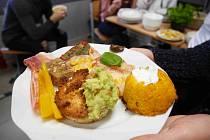 Nutričně bohaté i chutné, to bylo menu studentů chrudimské školy.